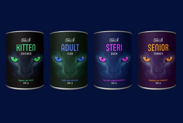 Компания «Дейли» выпустила линейку корма для кошек Dailycat Unique line