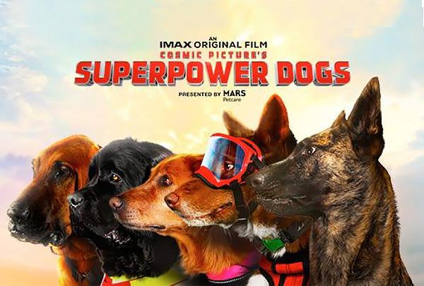 Состоялась премьера фильма Superpower Dogs
