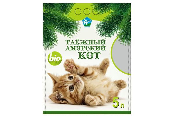 В Хабаровском крае начали производить наполнитель «Таёжный амурский кот»