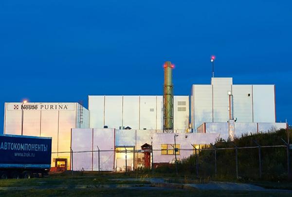На фабрике «Нестле Пурина ПетКер» в Калуге открыли очистные сооружения