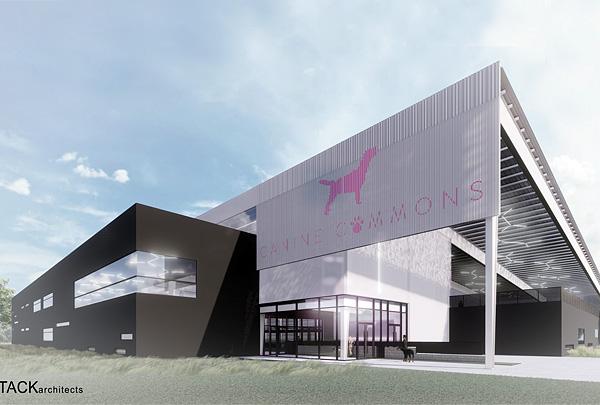 В столице Техаса Остине будет построен крупнейший из известных крытых парков для собак