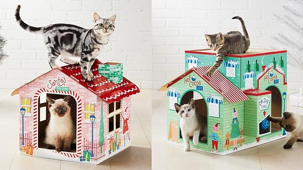 В Европе и США появились в продаже «рождественские домики»