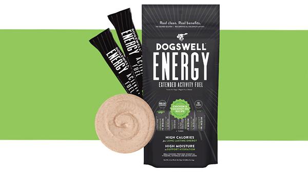 Компания Dogswell разработала лакомство-энергетик для собак