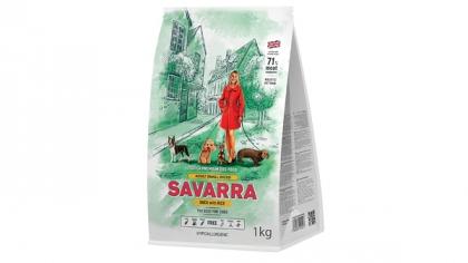 Savarra представила новую фасовку кормов с уткой