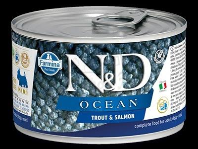 TROUT AND SALMON WET FOOD