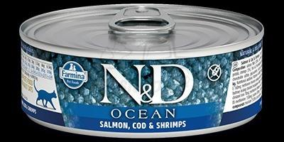SALMON, COD, SHRIMP WET FOOD