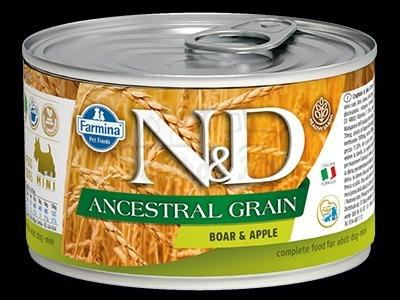 BOAR AND APPLE WET FOOD