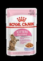 Kitten Sterilised (Киттен Стерилайзд) Мелкие кусочки в желе для стерилизованных котят с момента операции до 12 месяцев_1