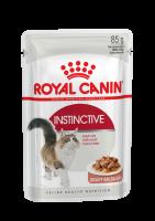 Instinctive (Инстинктив) Мелкие кусочки в соусе исключительной аппетитности для взрослых кошек в возрасте от 1 года до 7 лет_1