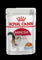 Instinctive (Инстинктив) Мелкие кусочки в желе исключительной аппетитности для взрослых кошек в возрасте от 1 года до 7 лет_1