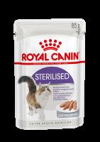 Sterilised (Стерилайзд) Паштет для взрослых стерилизованных кошек_1