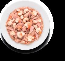 Консерва GRANDORF (ГРАНДОРФ) филе тунца с креветками для всех возрастов_1