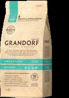 Сухой корм GRANDORF (ГРАНДОРФ) для кошек 4 Мяса с рисом Indoor_0