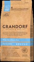 Сухой корм GRANDORF (ГРАНДОРФ) для собак Белая рыба с рисом Все породы