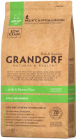 Сухой корм GRANDORF (ГРАНДОРФ) для собак Ягнёнок с рисом Мини_0