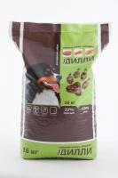Сухой корм для взрослых собак Дилли (говяжий гуляш с овощами) 16 кг_0