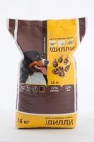 Сухой корм для взрослых собак Дилли (рагу из курицы с рисом) 16 кг_0