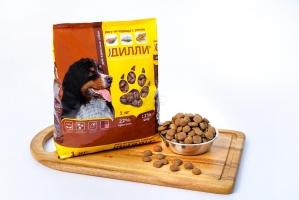 Сухой корм для взрослых собак Дилли (рагу из курицы с рисом) 16 кг_1