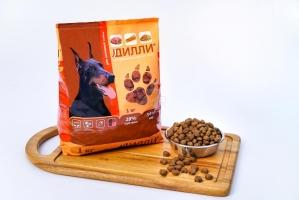 Сухой корм для активных собак Дилли 16 кг_1