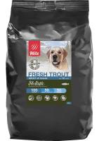Низкозерновой корм Блитц для взрослых собак Свежая Форель (BLITZ ADULT FRESH TROUT)_0