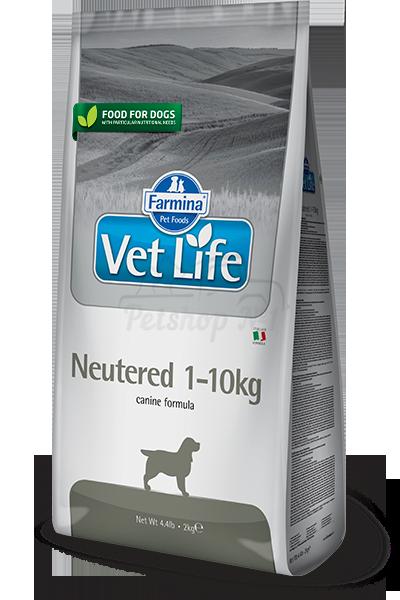 Питание для стерилизованных собак весом до 10 кг