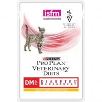 Влажный корм Purina Pro Plan Veterinary Diets DM корм для кошек при диабете с курицей 85 гр_2